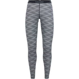 Icebreaker W's 200 Oasis Curve Leggings Black/Snow